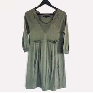 Marc By Marc Jacobs Hunter Green Sweater Dress
